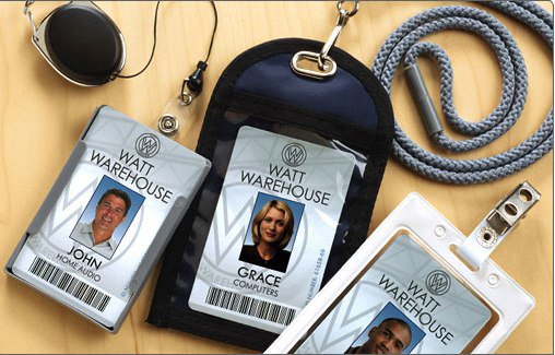 Shop Protective Badge Holders