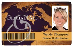 Sample ID card with barcode feature!
