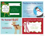 Free Holiday Certificates