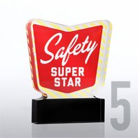 Safety Super Star Trophy