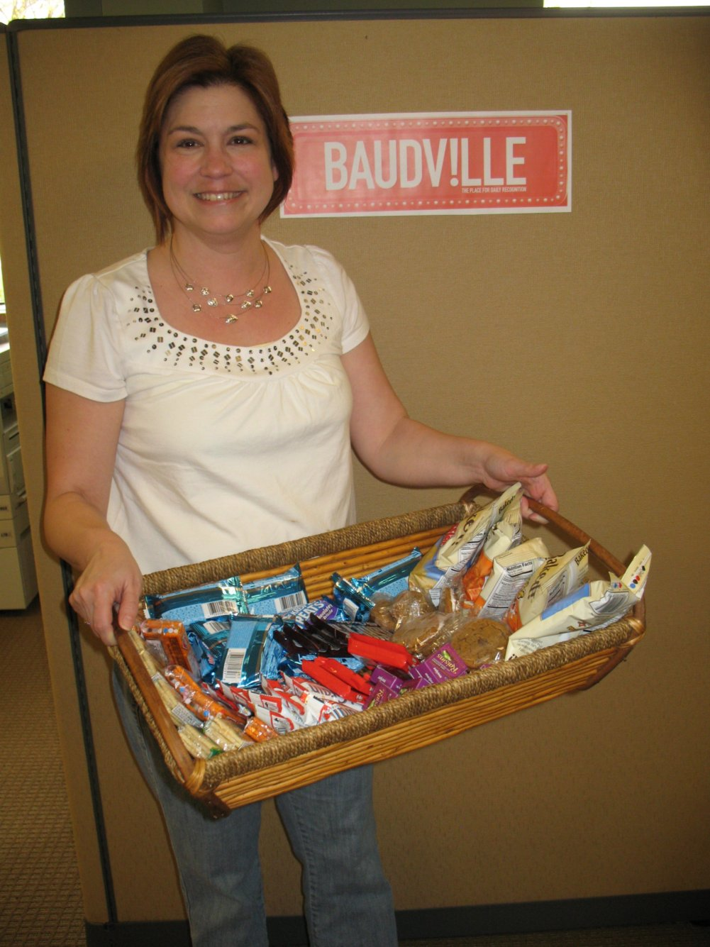 Create a Snack Basket for a great Customer Service Week Treat