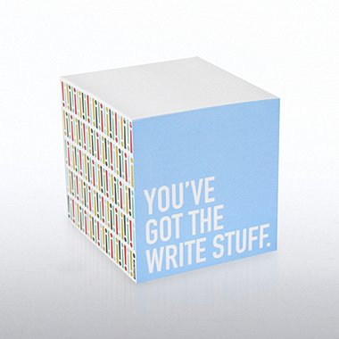 Adhesive Note Cube - Exclamations