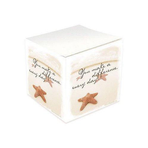 Starfish Adhesive Note Cube