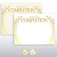Foil-Stamped Certificate Paper - Completion