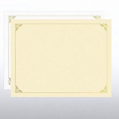 Foil Certificate Paper - Ornament