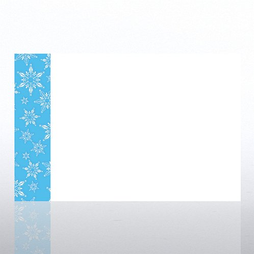 Snowflake Jumbo Postcard