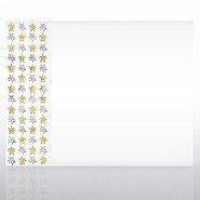 Foil Certificate Paper - Duo Tone Stars