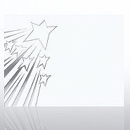 Foil Certificate Paper - Shooting Stars