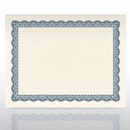 Certificate Paper - Official Parchment - Steel Blue