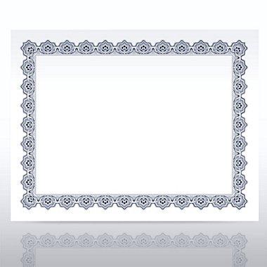 Certificate Paper - Scallop - Slate/Black