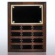 Perpetual Plaque - Walnut