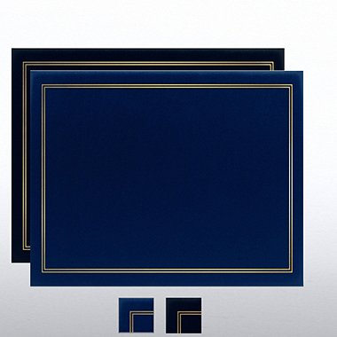 Foil Border Diploma Covers