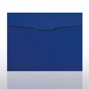 Certificate Folder - Royal Blue
