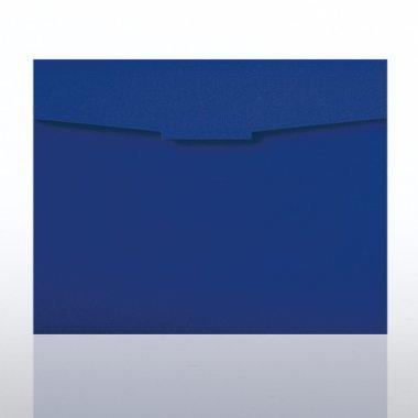 Certificate Folder - Royal Blue