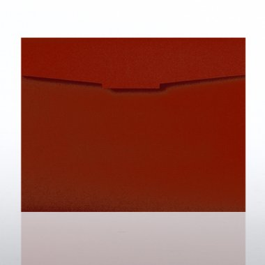Certificate Folder - Red