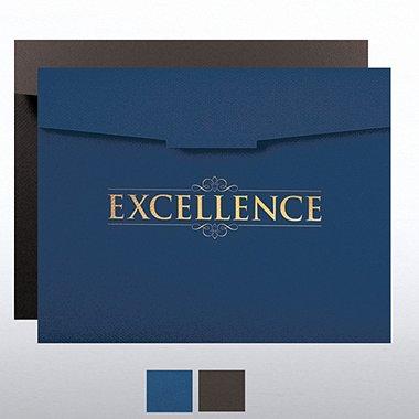 Excellence Certificate Folder