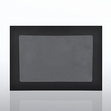 Certificate Envelope with Window - Black