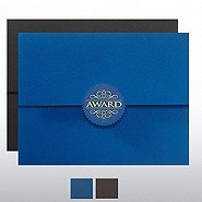 Certificate Folders - Award with Serrated Flap