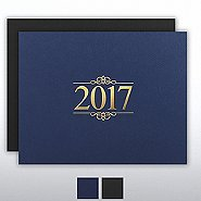 Foil Certificate Cover - 2017 Ornaments