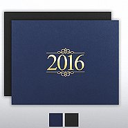 Foil Certificate Cover - 2016 Ornaments