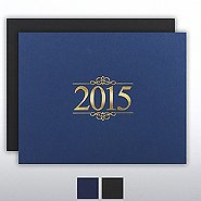 Foil Certificate Cover - 2015 Ornaments