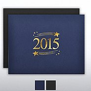 Foil Certificate Cover - 2015