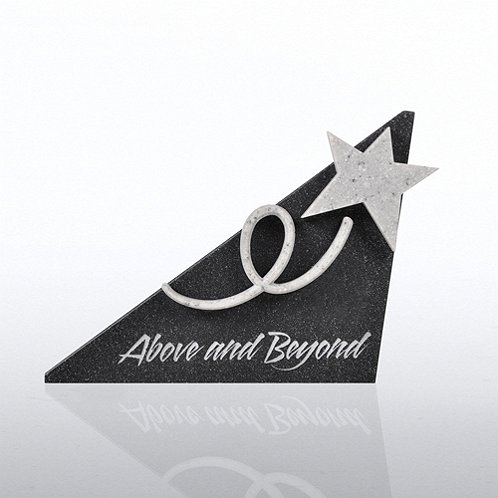 Above & Beyond Sculptured Desk Award