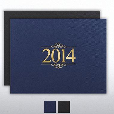 Foil Certificate Cover - 2014