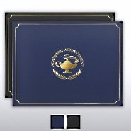 Certificate Cover - Gold Foil - Academic Achievement