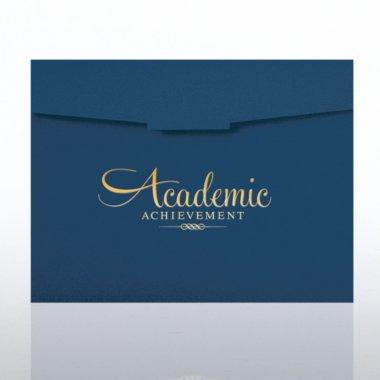 Foil-Stamped Certificate Folder - Academic Achievement