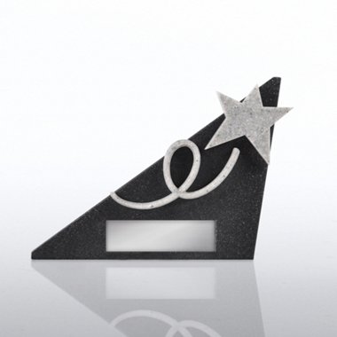 Sculptured Desk Awards - Shining Star - Personalized