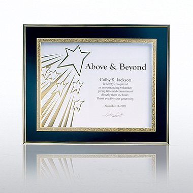 Shadow Box Frame - Gold