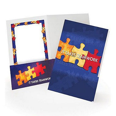 Pocket Folder - It Takes Teamwork