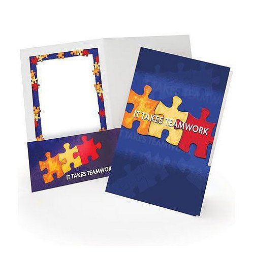 It Takes Teamwork Pocket Folder