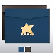 Team Results Star Foil Certificate Folder