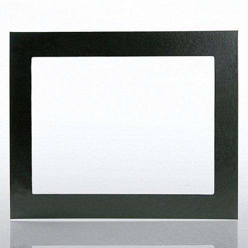 Black Leatherette Frame