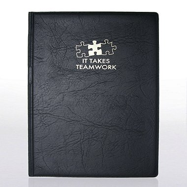 Notepad Holder - It Takes Teamwork
