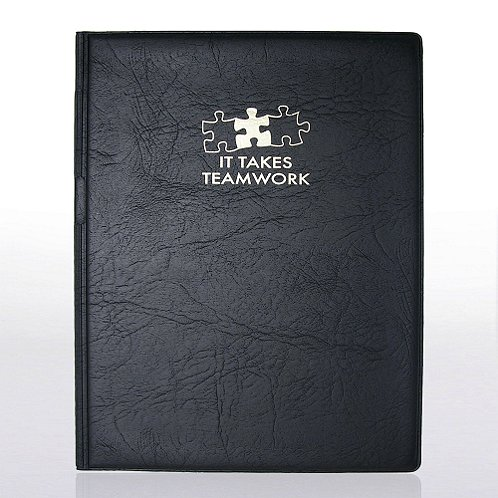 It Takes Teamwork Notepad Holder