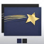 Foil-Stamped Embossed Folder - Shooting Star