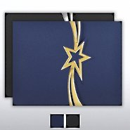 Foil-Stamped Embossed Folder - Star Streamer