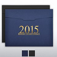 Foil-Stamped Certificate Folder - MAD - 2015