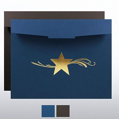 Star Dream Foil Certificate Folder