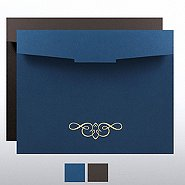 Ornate Foil Certificate Folder