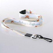 Themed Lanyard - Sand Starfish - Breakaway