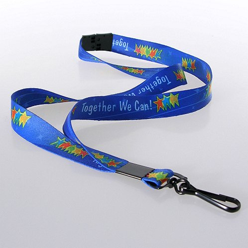 Together We Can! Themed Breakaway Lanyard w/ Hook