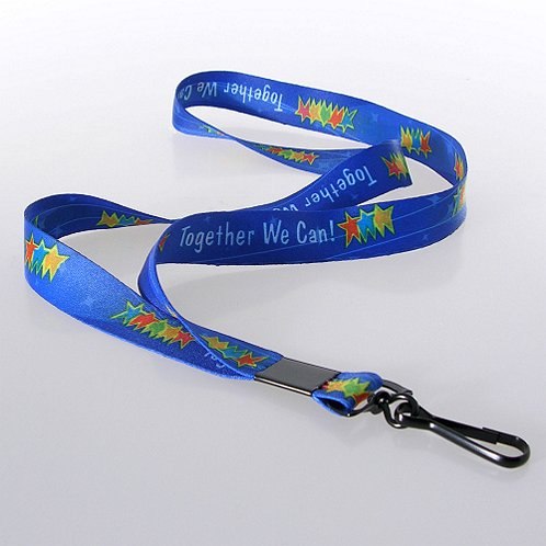 Together We Can! Themed Lanyard w/ Hook