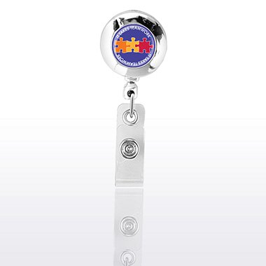Themed Badge Reel - Chrome - It Takes Teamwork