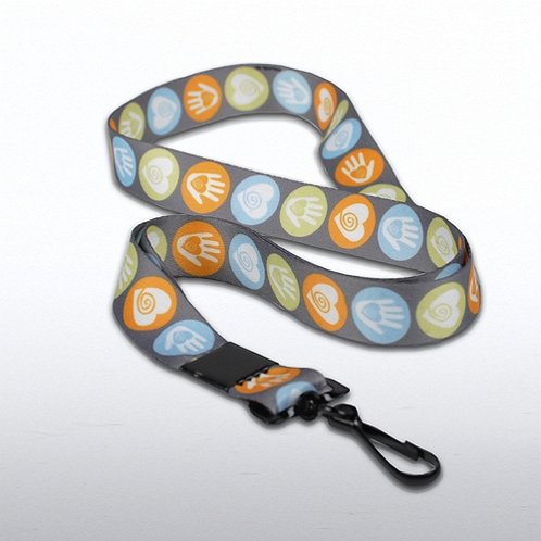 Helping Hand Themed Lanyard