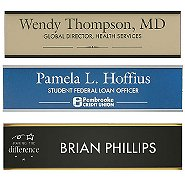 Classic Wall Mounted Nameplates