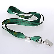 Vivid Color Custom Lanyards - 3/4 Inch Poly Satin